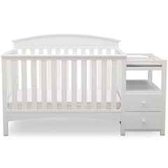Delta Children Bianca (130) Abby Crib N Changer, b2b