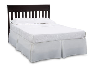 Delta Children Dark Chocolate (207) Presley Convertible Crib N Changer (530260), Full Size Bed, c6c