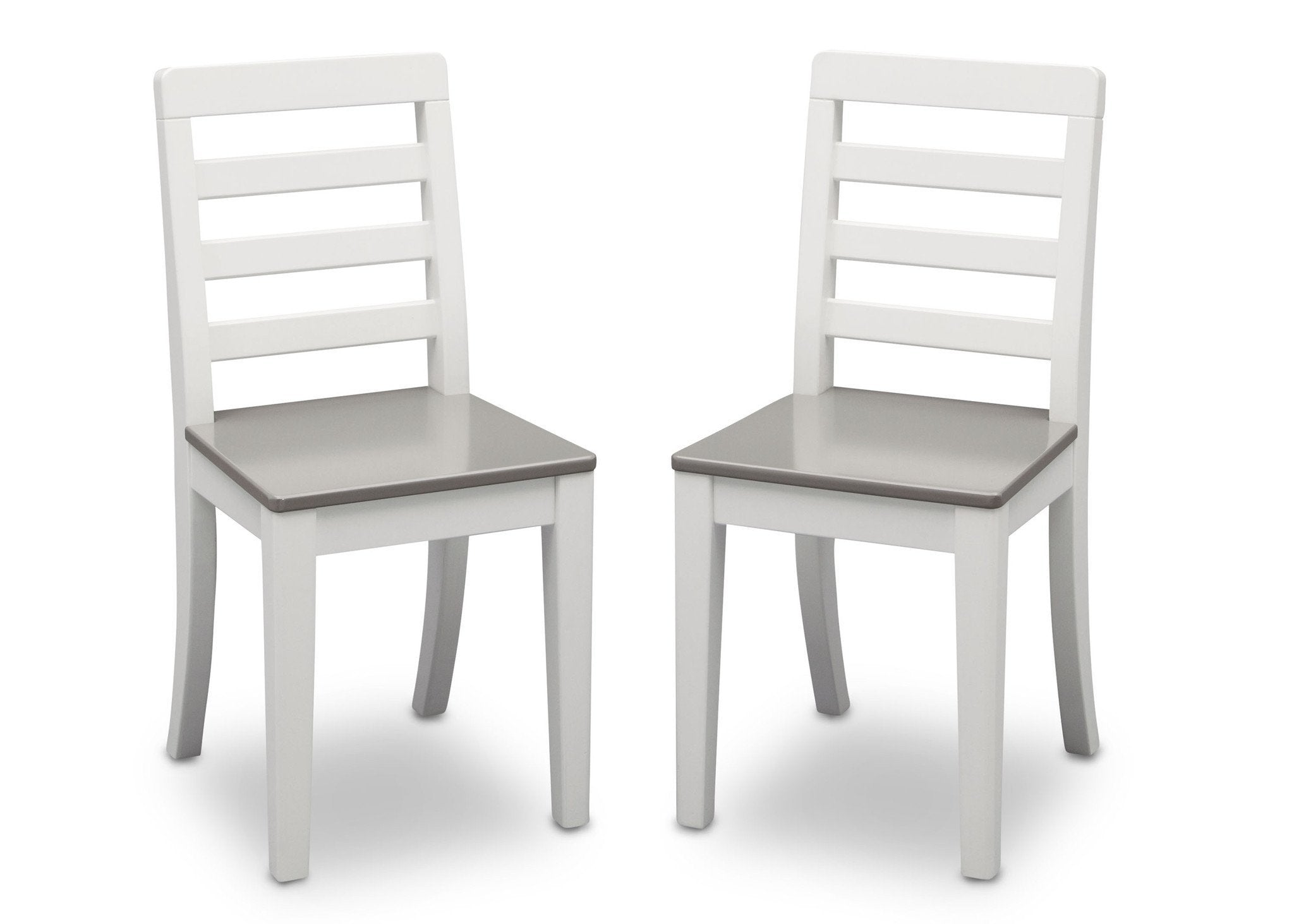 Ordinaire ... Delta Children Bianca With Grey (166) Gateway 2 Chairs, Front View A4a  ...