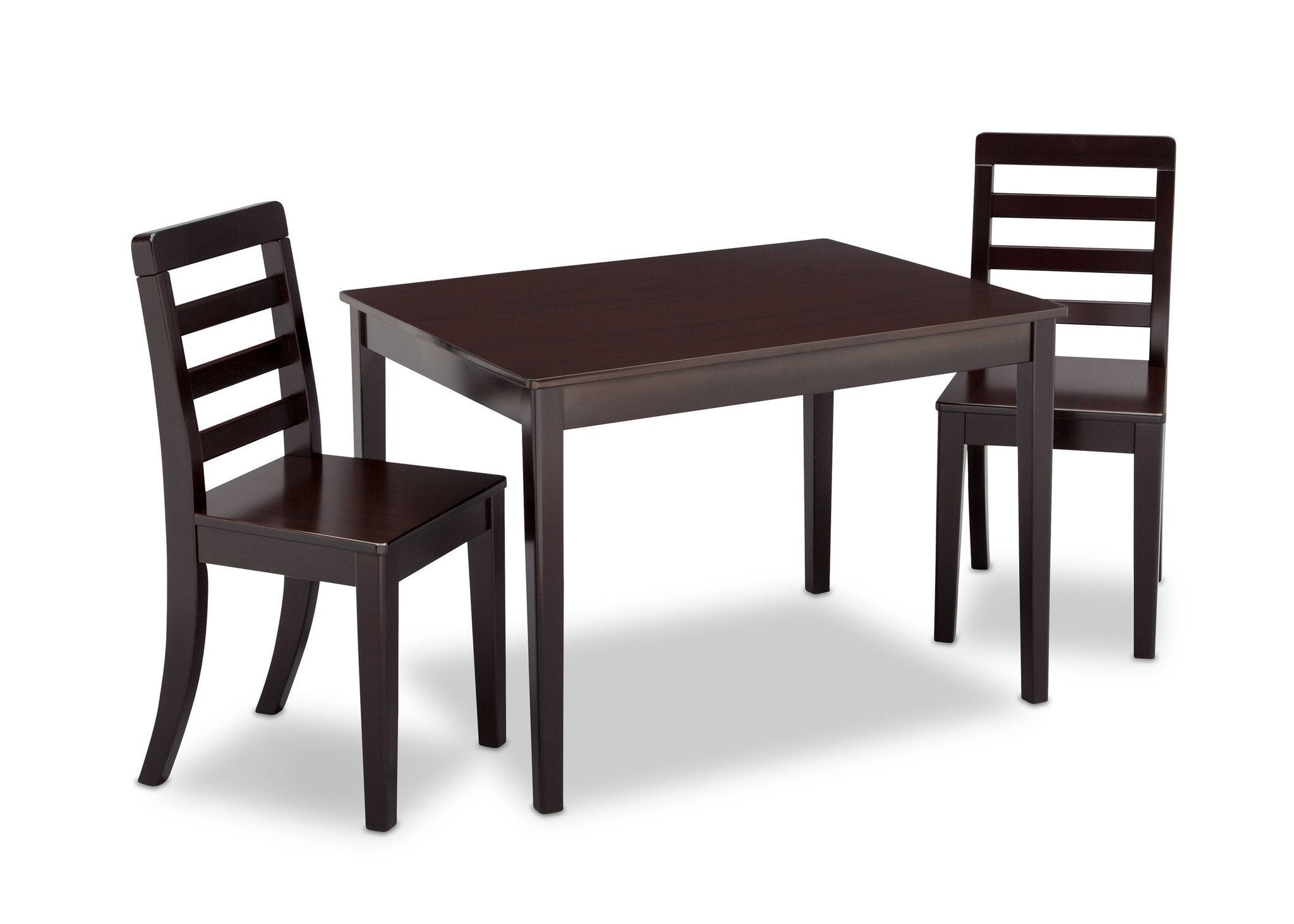 Delta Children Dark Chocolate (207) Gateway Table u0026 2 Chair Set Right View ...  sc 1 st  Delta Children : wooden table and 2 chairs set - pezcame.com