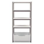 Gateway Ladder Shelf (Bianca with Grey)