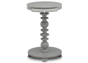 Delta Children Grey (026) Emery End/Side Table (531420), Front Silo, a4a