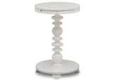 Delta Children Bianca White (130) Emery End/Side Table (531460), Hangtag, b3b