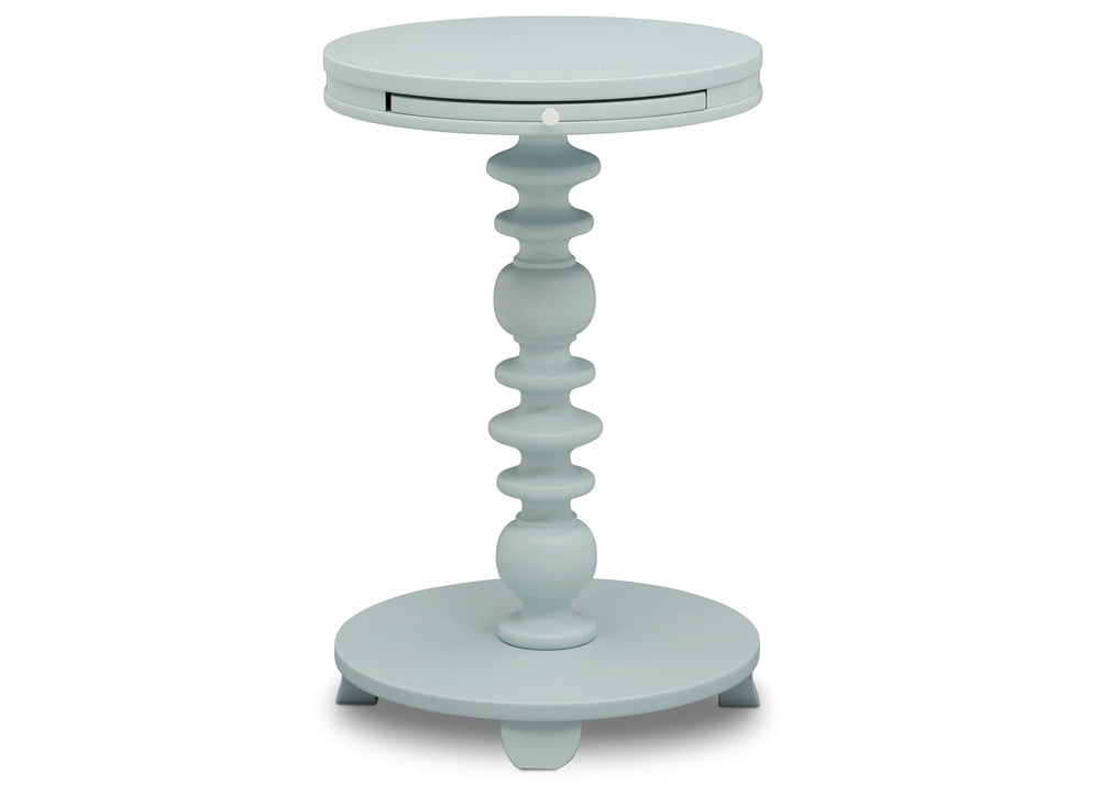 Delta Children Misty Blue (1330) Emery End/Side Table (531460), Hangtag, d3d