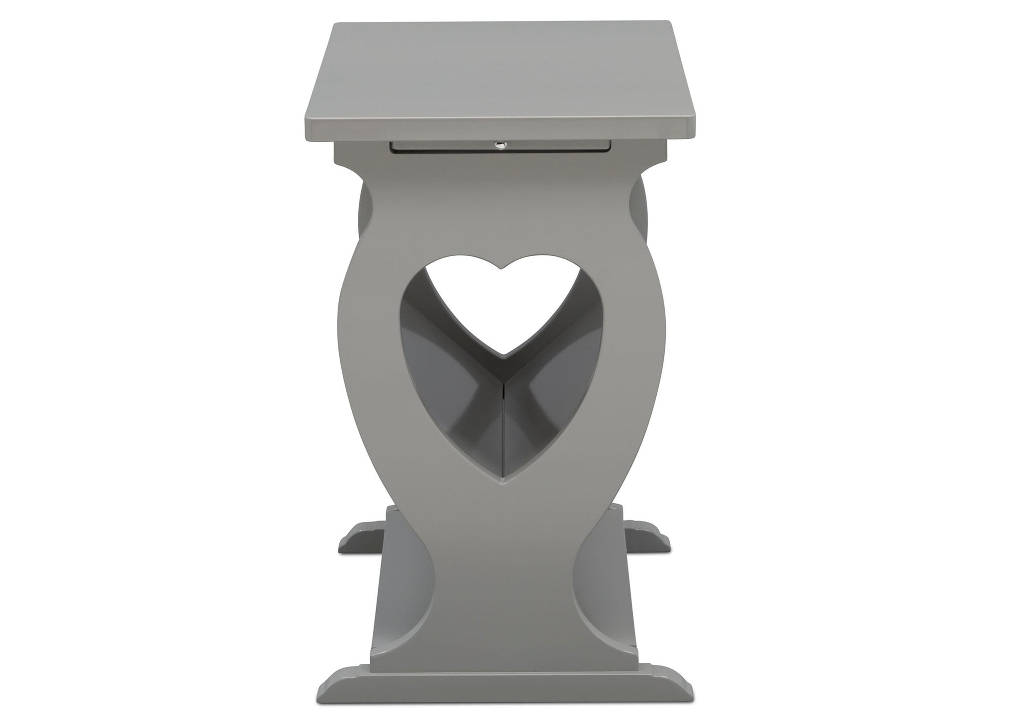 Delta Children Grey (026) Canton End/Side Table (531430), Side Profile, a5a