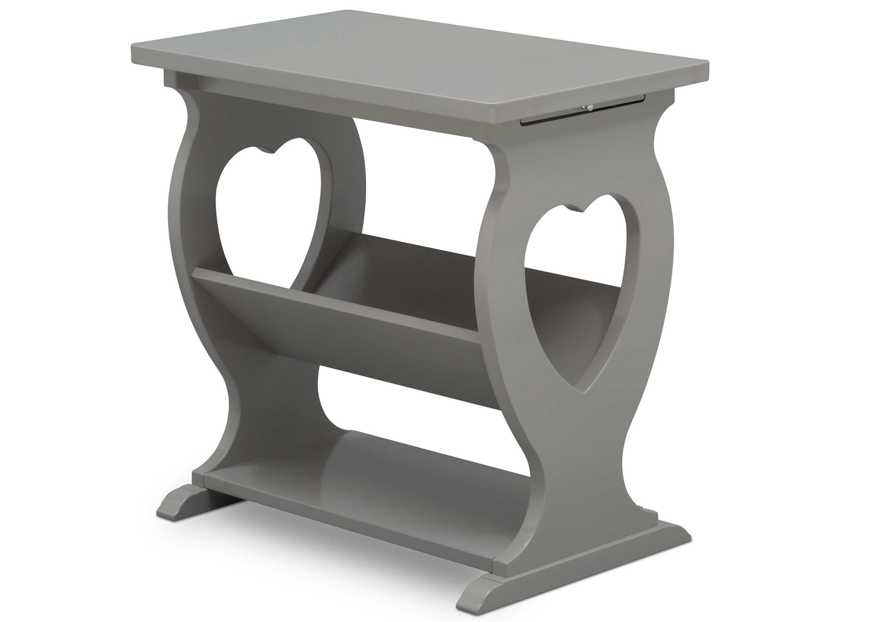 ... Delta Children Grey (026) Canton End/Side Table (531430), Right ...