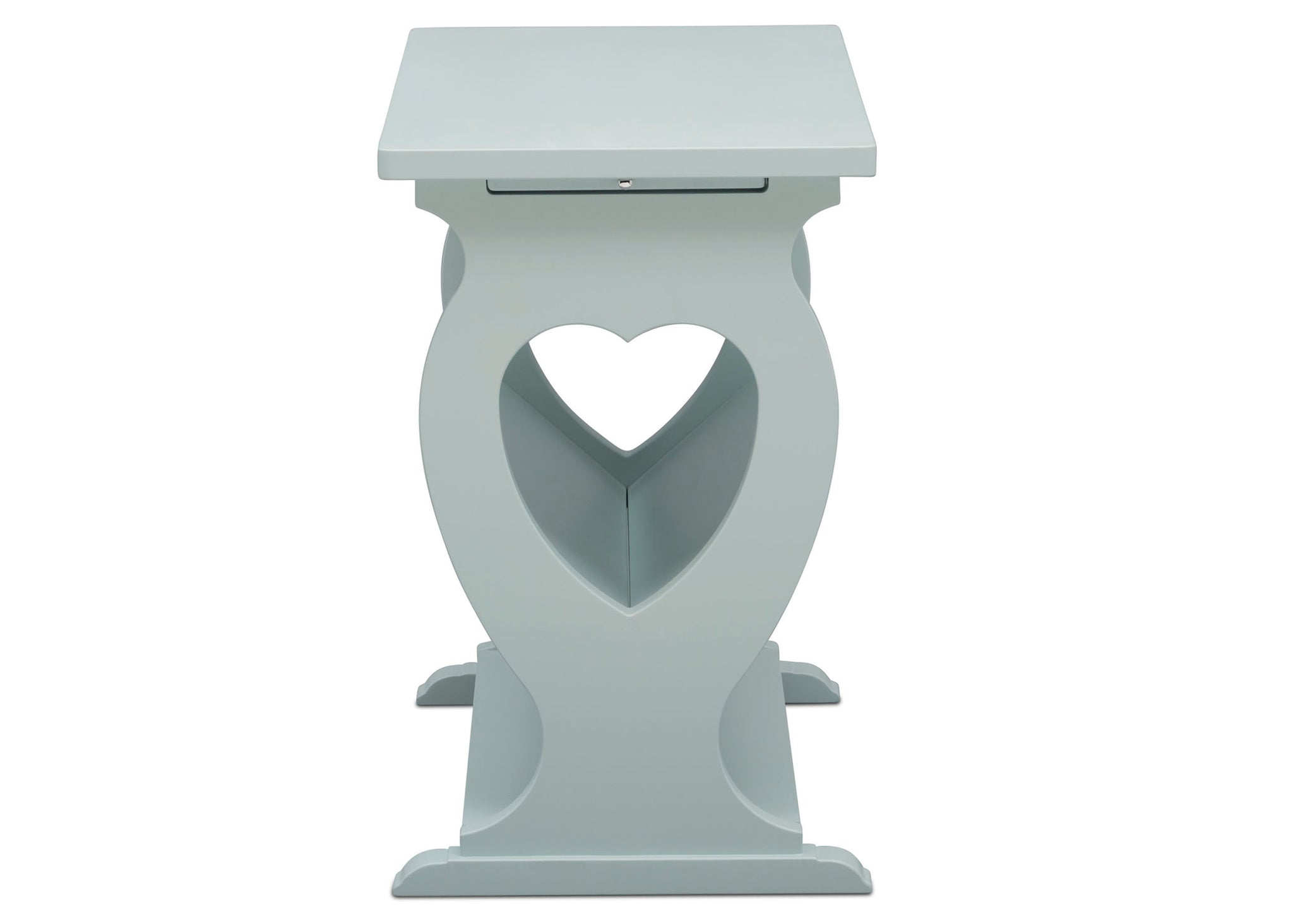 Delta Children Misty Blue (1330) Canton End/Side Table (531430), Side profile, d5d