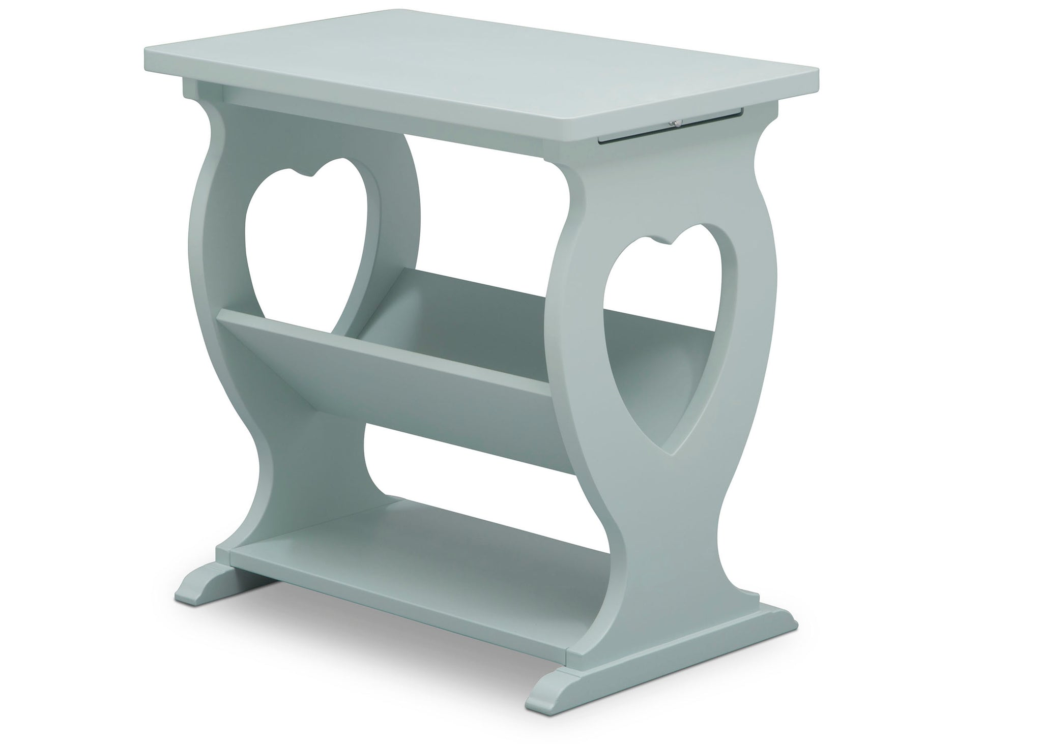 Delta Children Misty Blue (1330) Canton End/Side Table (531430), Right Silo, d3d
