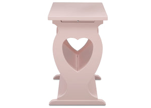 Delta Children Lotus Pink (936) Canton End/Side Table (531430), Side Profile, e5e