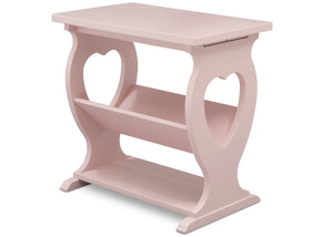 Delta Children Lotus Pink (936) Canton End/Side Table (531430),Right Silo, e3e