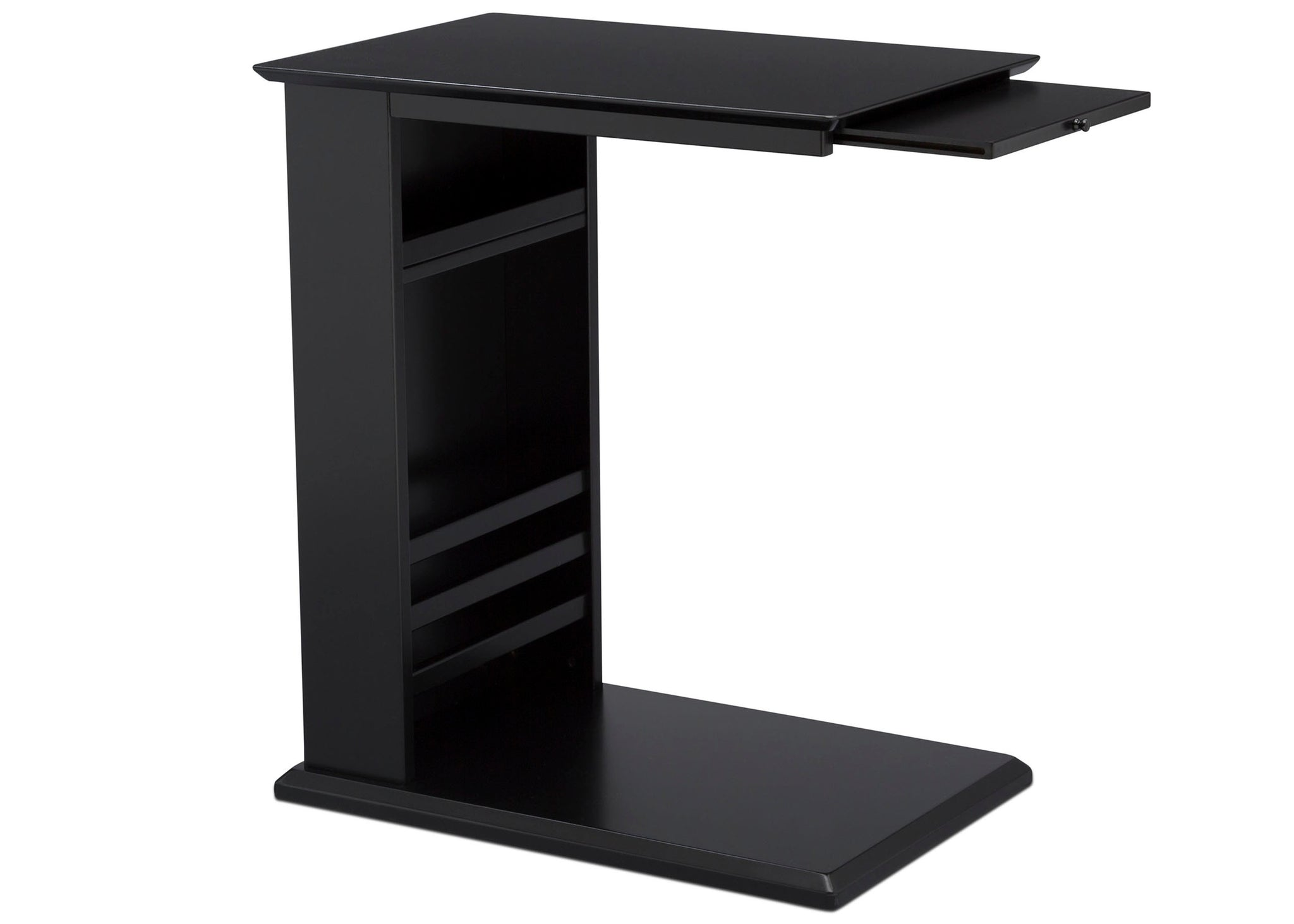 Delta Children Ebony (0011) Nolan End/Side Table (531460), Right Silo, c4c