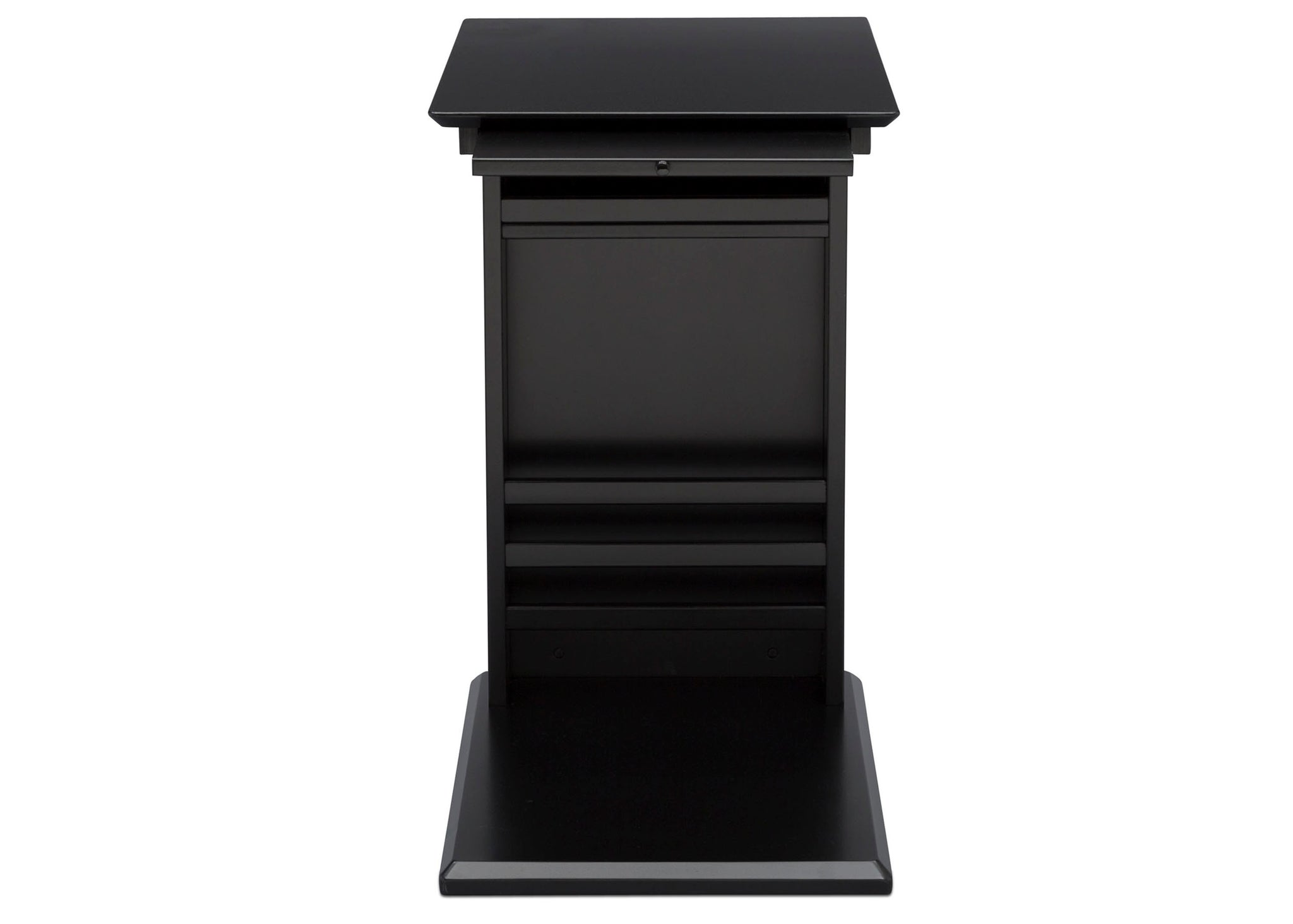 Delta Children Ebony (0011) Nolan End/Side Table (531460), Storage, c6c