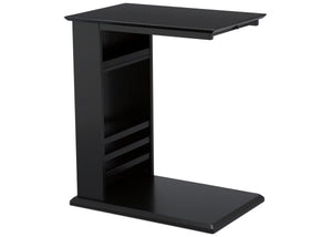 Delta Children Ebony (0011) Nolan End/Side Table (531460), Right Silo, c3c