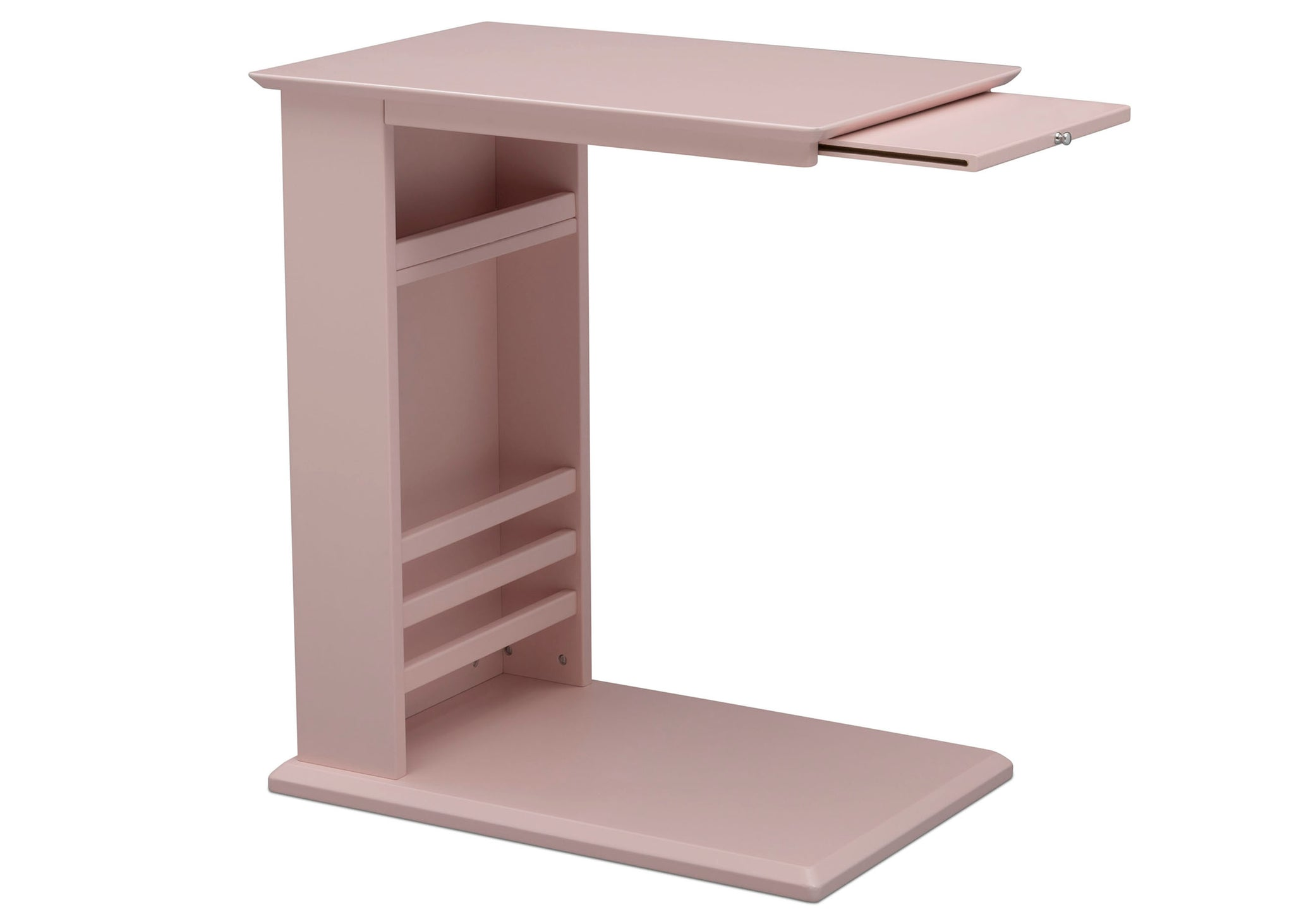 Delta Children Lotus Pink (936) Nolan End/Side Table (531460), Right Silo, e4e