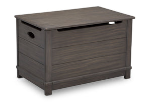 Delta Children Rustic Grey (084)  Monterey Farmhouse Hope Chest Toy Box (536450), Right View, a2a