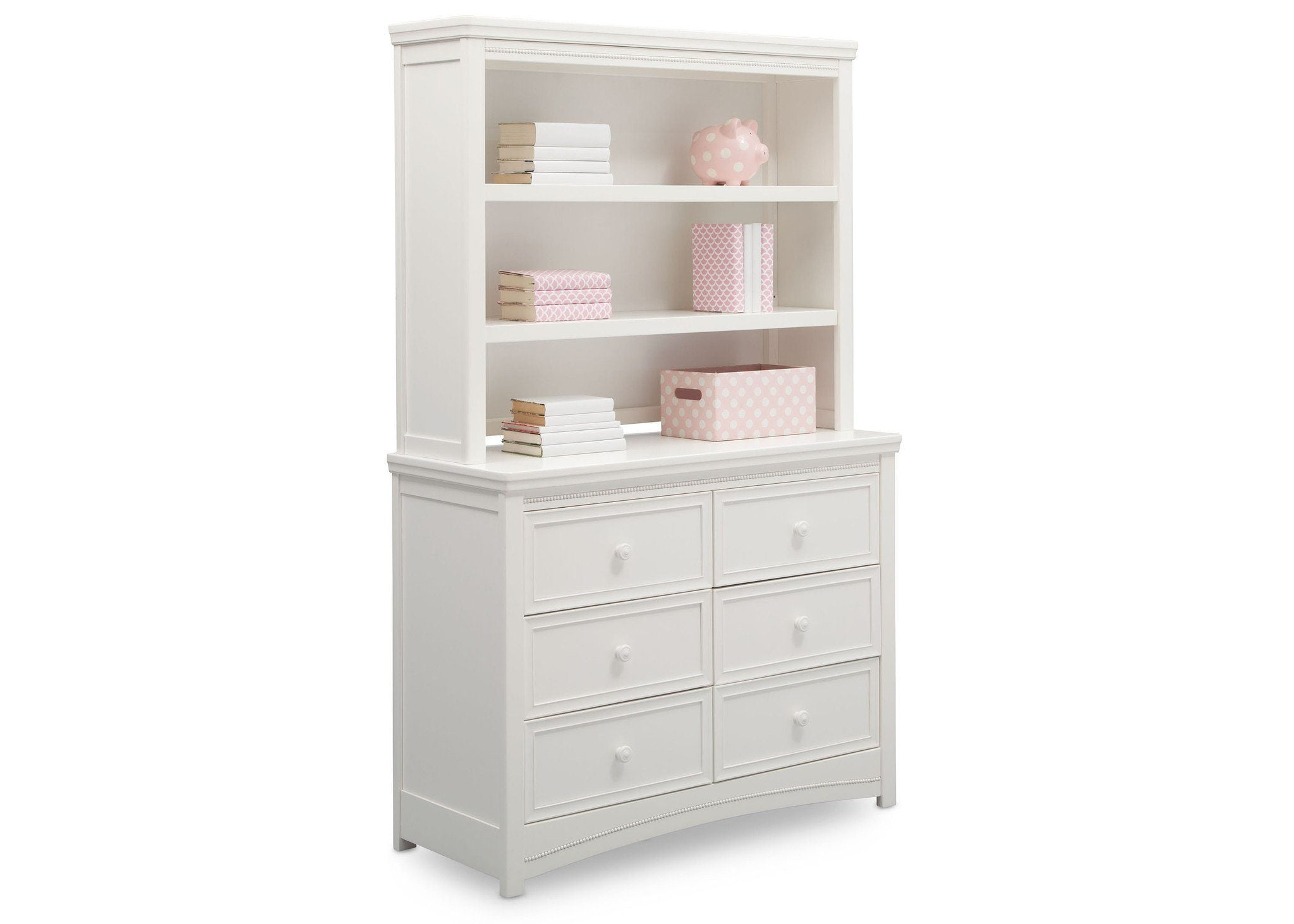 shipping hutch garden product bookcases shelf premium white overstock today home closetmaid free bookcase