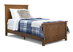 Delta Children Weathered Chestnut (223) Meadowbrook 3-Piece Twin Room-in-a-Box, Room View b2b