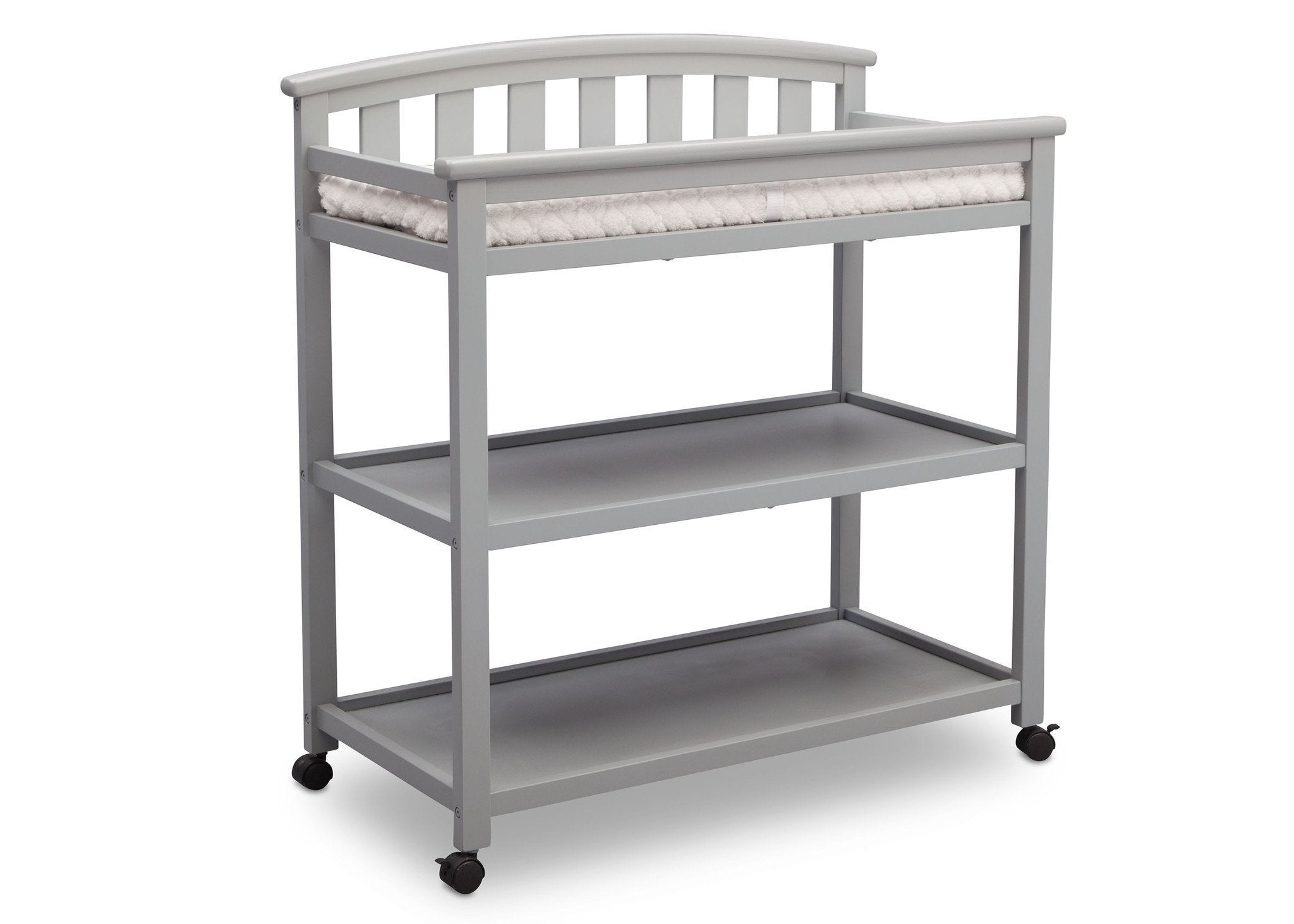 Delta Children Grey (026) Freedom Changing Table Side View a3a