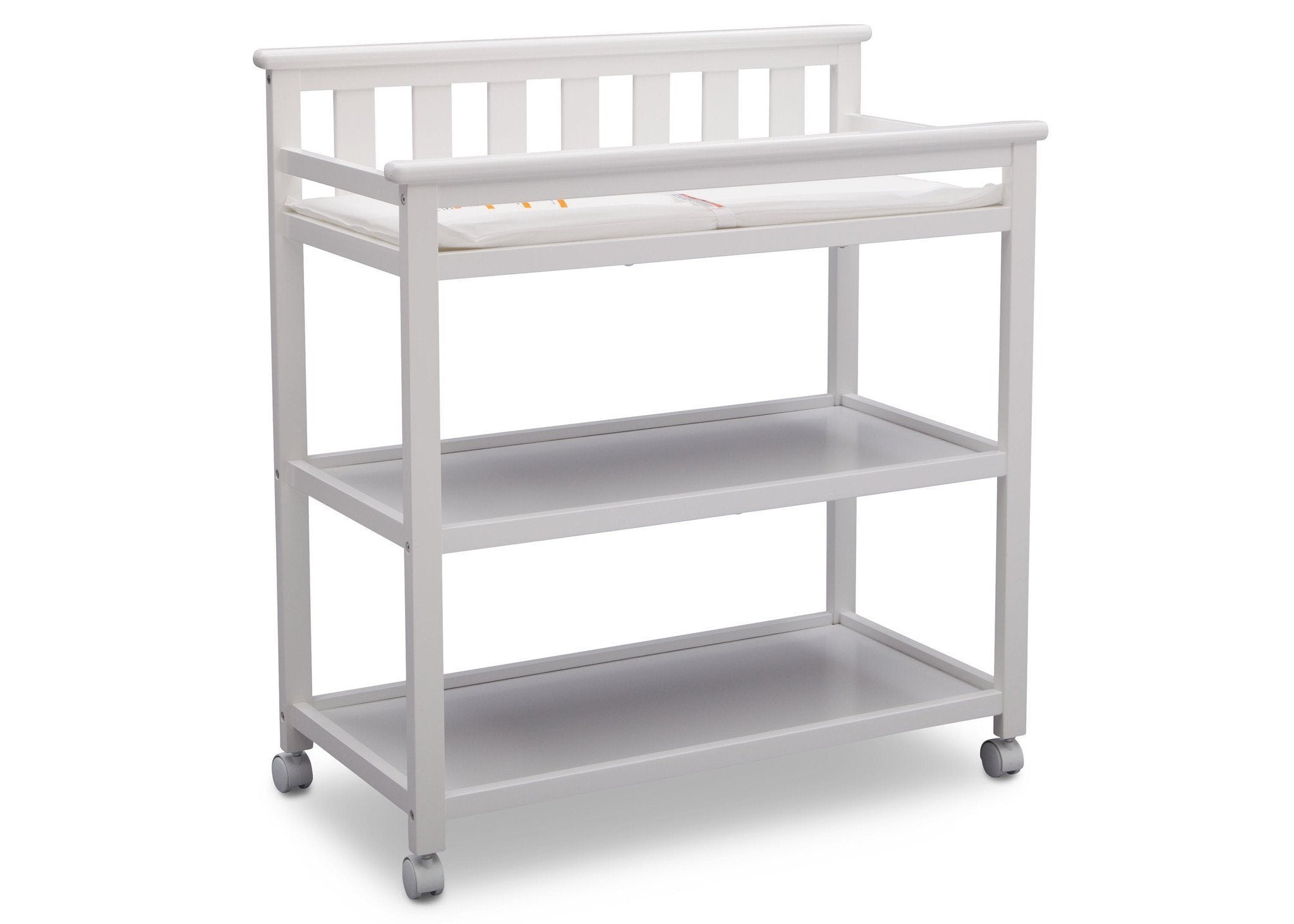 ... Delta Children Bianca (130) Liberty Changing Table Side View B3b