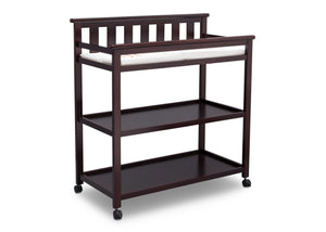 Delta Children Dark Chocolate (207) Liberty Changing Table Side View c3c