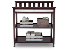 Delta Children Dark Chocolate (207) Liberty Changing Table Front View c2c
