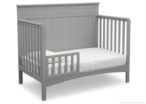 Delta Children Grey (026) Fancy 4-in-1 Crib, With Seal b7b
