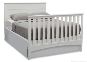 Delta Children Bianca (130) Fancy 4-in-1 Crib, Full-Size Bed Conversion a7a