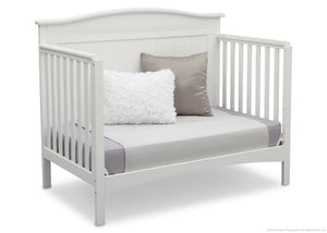 Delta Children Bianca (130) Bennett 4-in-1 Crib Daybed Conversion Side View b5b