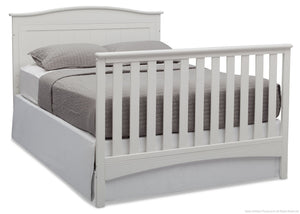 Delta Children Bianca (130) Bennett 4-in-1 Crib Full Bed Conversion b6b