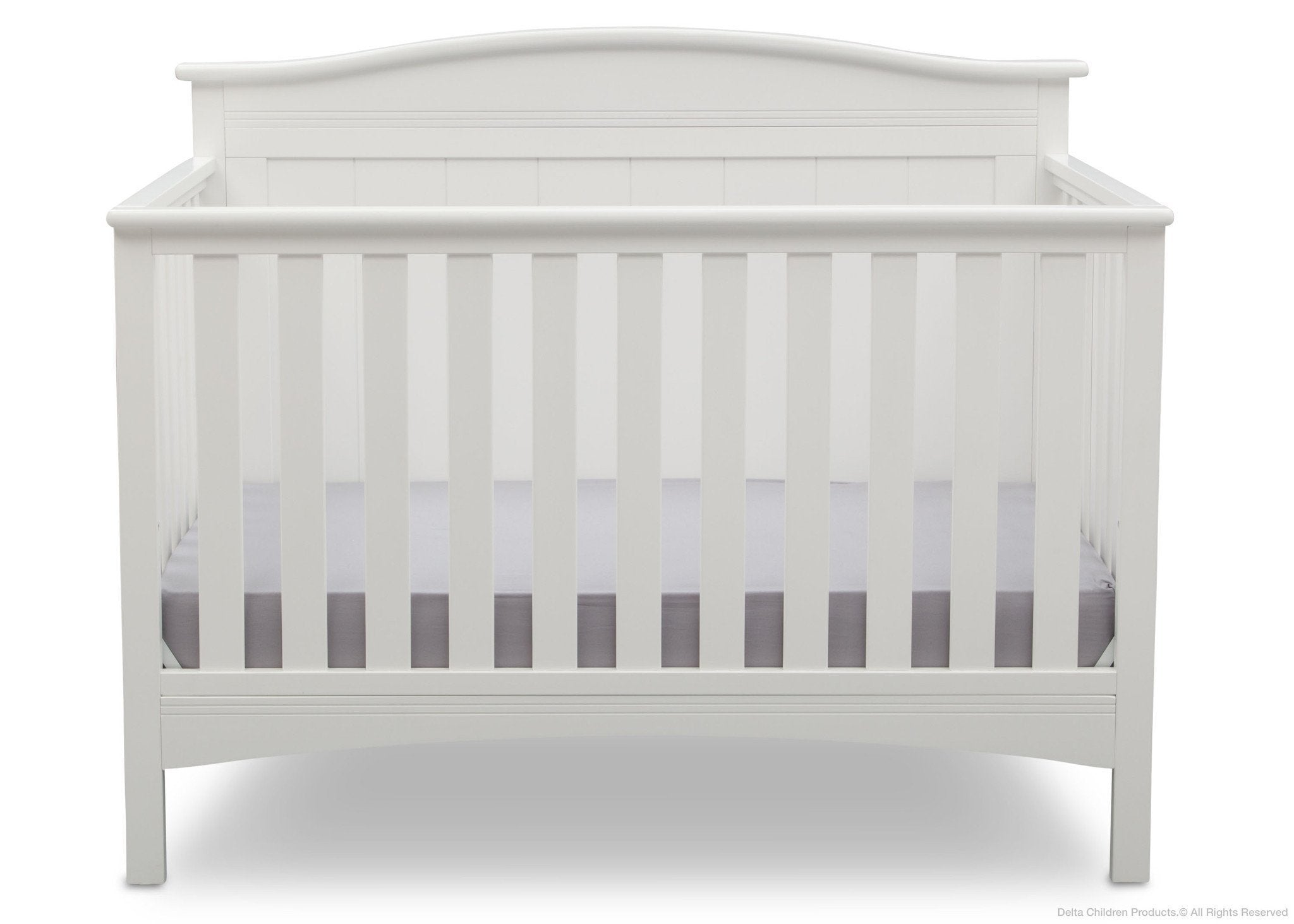 Delta Children Bianca (130) Bennett 4-in-1 Crib Front View b2b