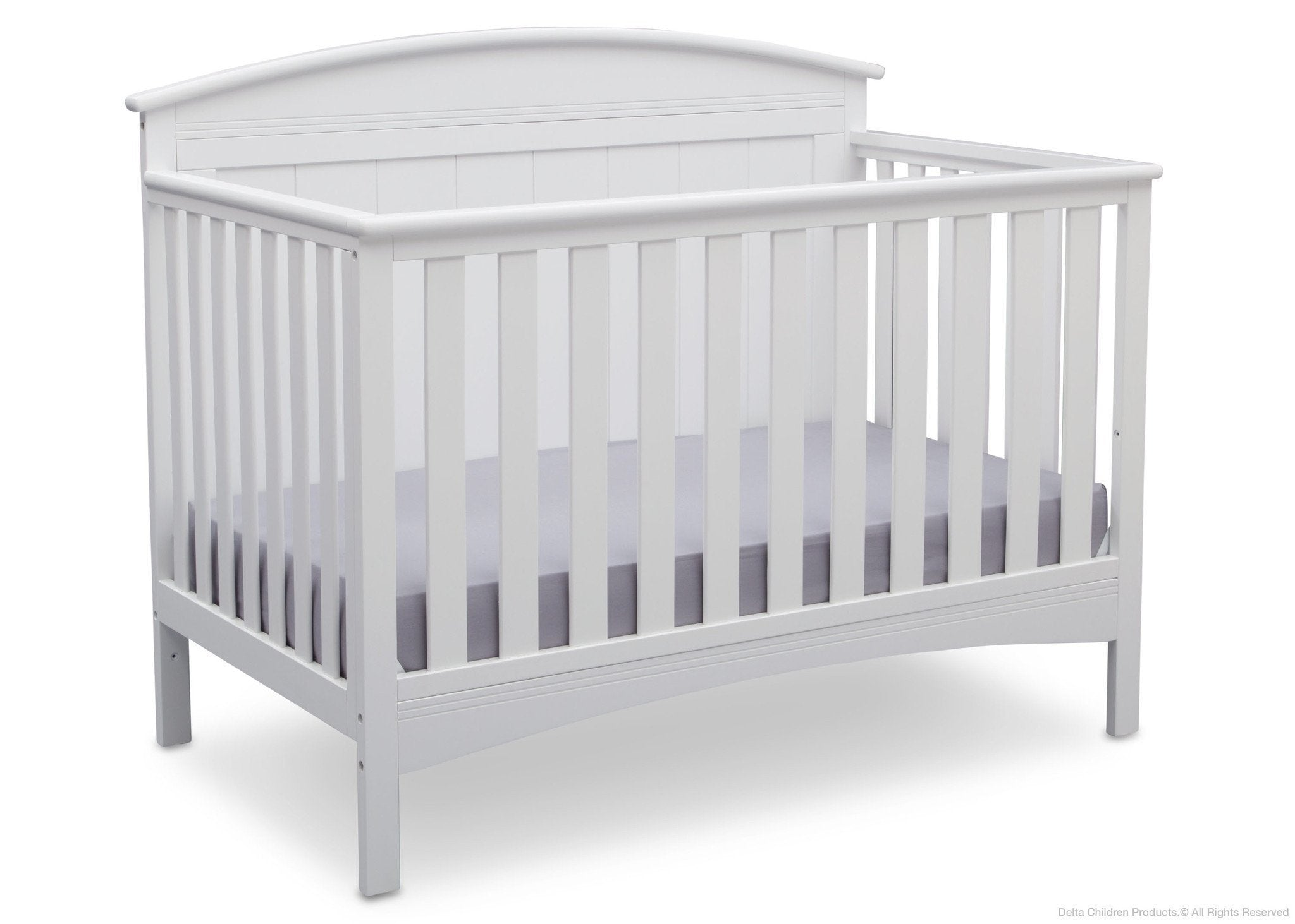 Delta Children Bianca (130) Archer 4-in-1 Crib Side View b3b