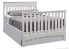 Delta Children Bianca (130) Fabio 4-in-1 Crib, Full-Size Bed Conversion b6b