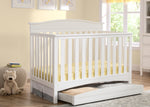 Delta Children Bianca (130) Baker 4-in-1 Crib In Nursery c1c
