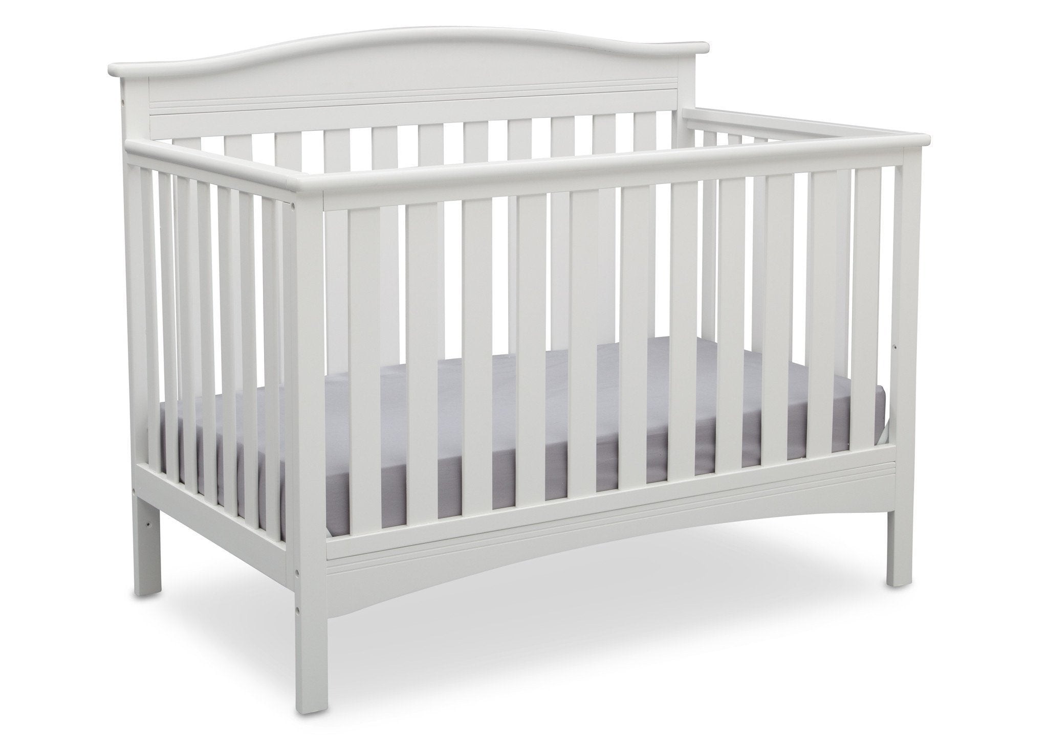 Delta Children Bianca (130) Bakerton 4-in-1 Crib  Side View b3b