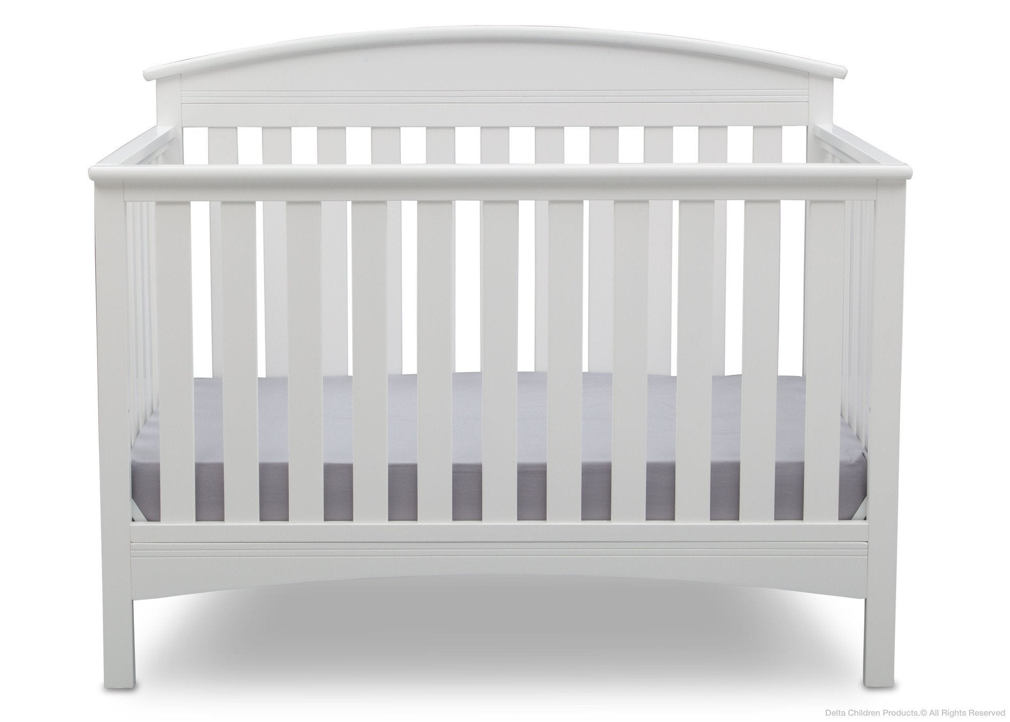 Delta Children Bianca (130) Abby 4-in-1 Crib Front View b2b
