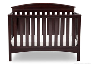 Delta Children Dark Chocolate (207) Abby 4-in-1 Crib Front View c2c