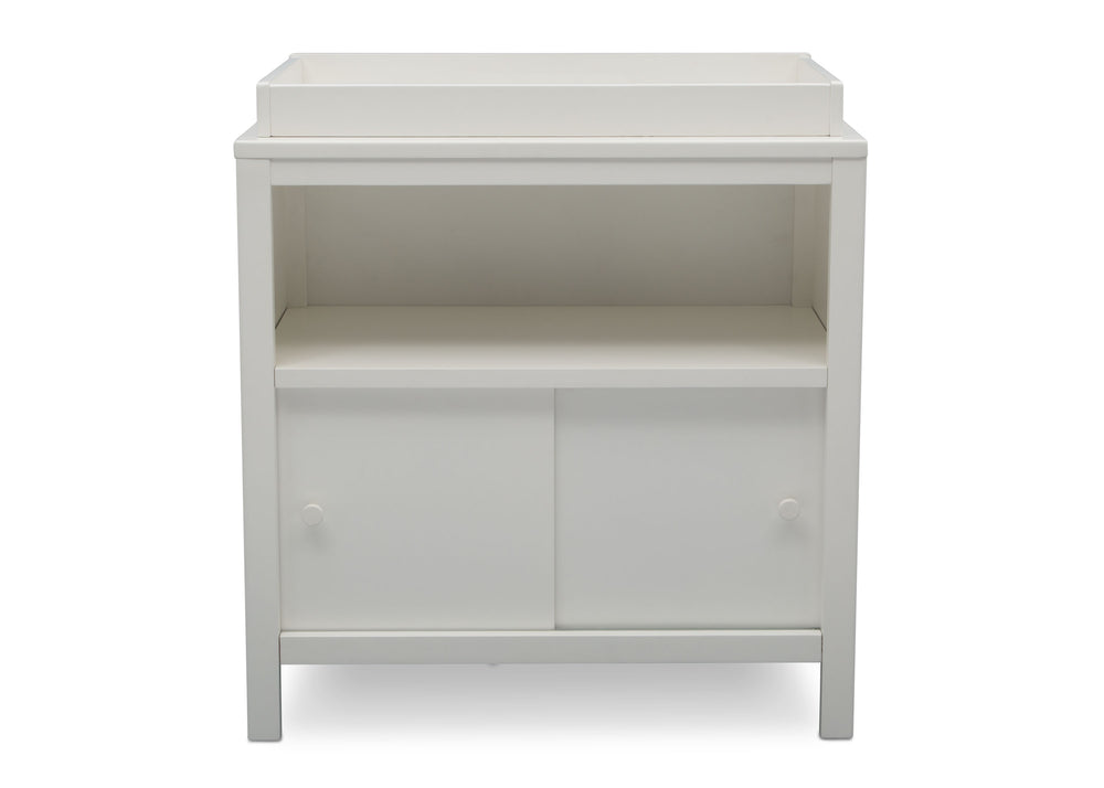 Delta Children Bianca (130) Convertible Changing Unit, front view, c3c