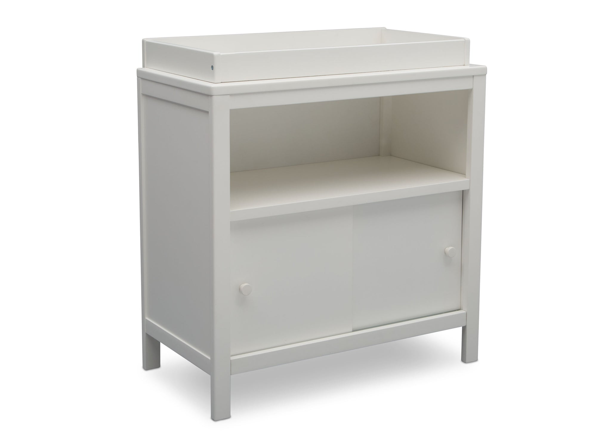 Delta Children Bianca (130) Convertible Changing Unit, side view, c2c