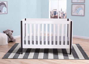 Delta Children Bianca with Ebony (149) Bellevue 3-in-1 Crib, Hangtag a2a