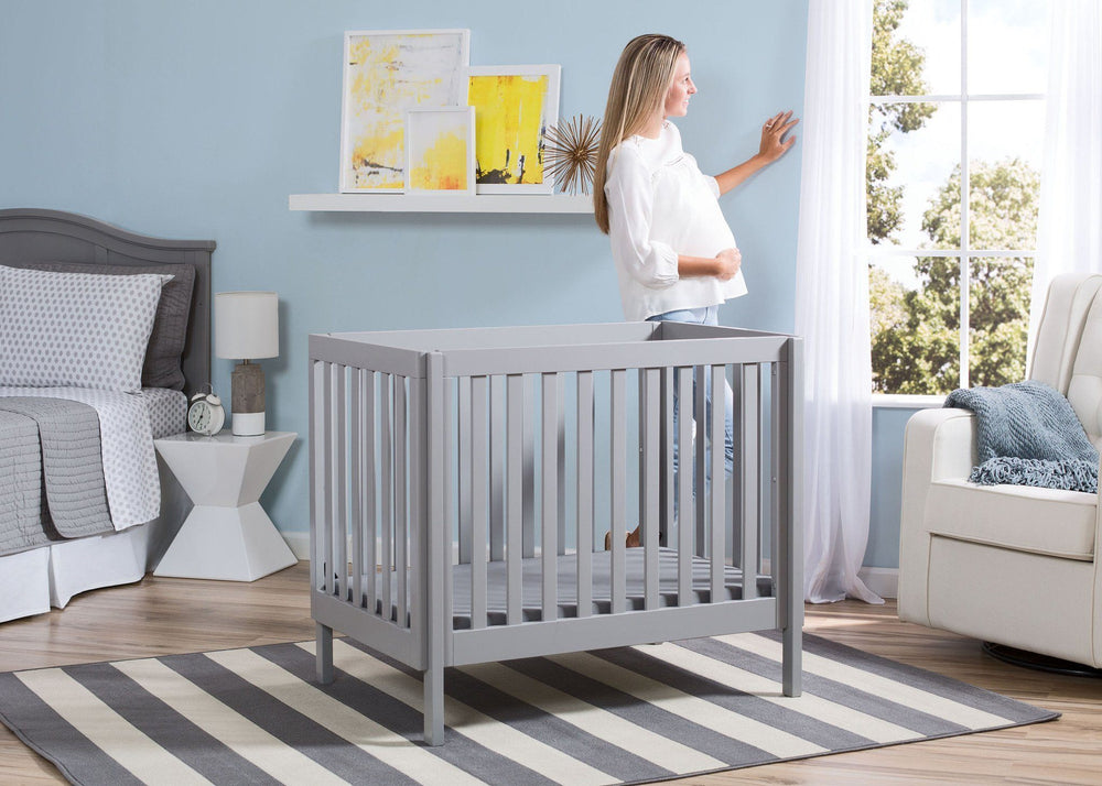 Bennington Elite Mini Crib With Mattress Delta Children