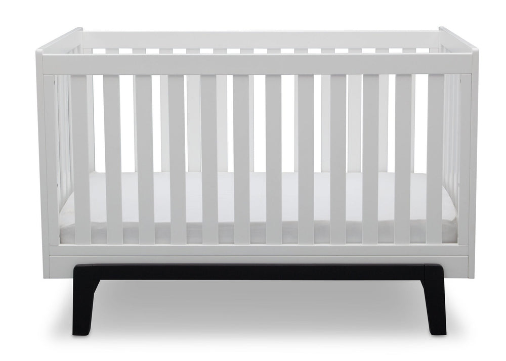 Delta Children Bianca with Ebony (149) Aster 3-in-1 Crib, Straight Crib View a3a