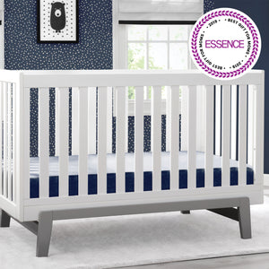 Aster 3 in 1 Crib Bianca White with Grey 166