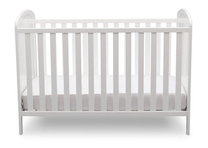 Delta Children, Bianca With Animal Motif (1303), Modbaby 3-in-1 Crib, straight on, a3a