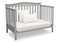 Delta Children Grey (026) Independence 4-in-1 Convertible Crib, Daybed Conversion a6a