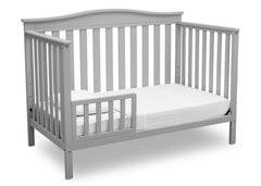 Delta Children Grey (026) Independence 4-in-1 Convertible Crib, Toddler Bed Conversion a5a