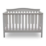 Independence 4-in-1 Convertible Crib (Grey)