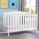 Independence 4-in-1 Convertible Crib (Bianca) - Bundle