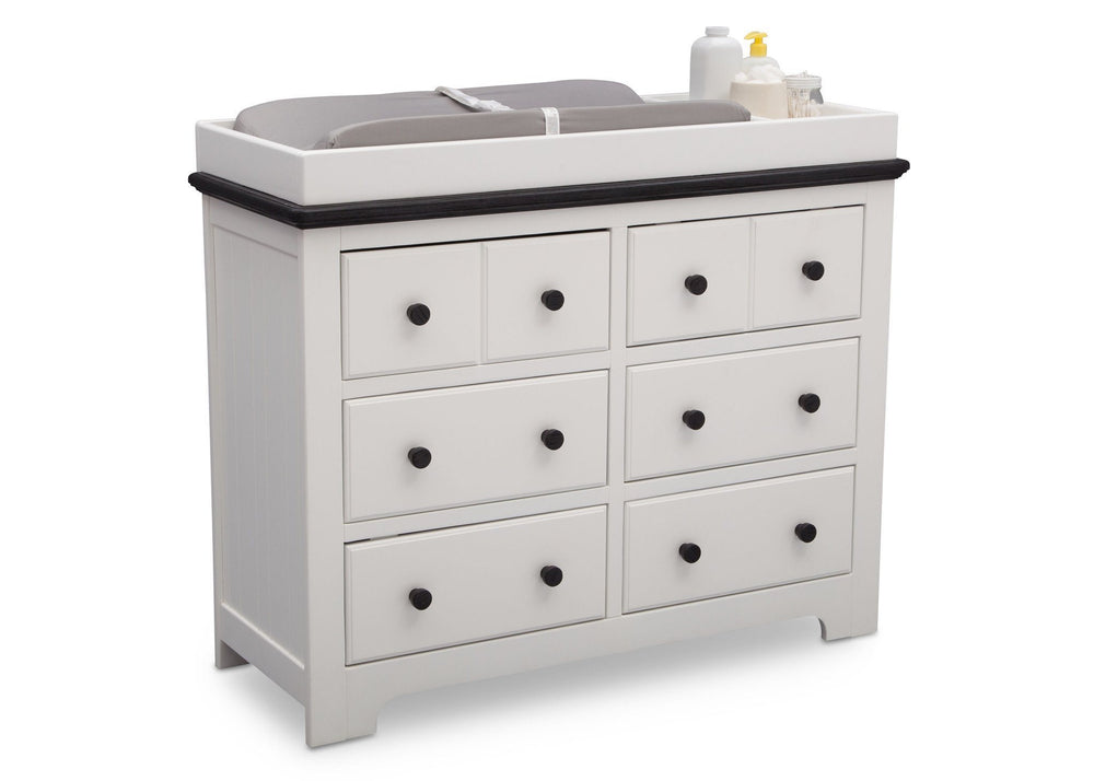 Delta Providence 6 Drawer Dresser Nursery Changing Tables