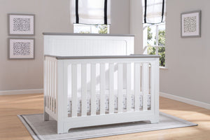 Delta Children Bianca with Rustic Haze (136) Providence 4-in-1 Crib, Hangtag