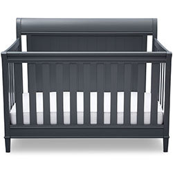 New Haven 4-in-1 Crib (Charcoal)